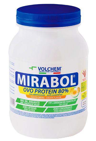 MIRABOL ® OVO PROTEIN 80 - barattolo ( proteine dell' uovo ) 750g