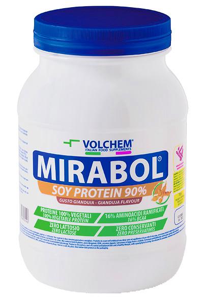 MIRABOL ®  SOY PROTEIN 90 - barattolo ( proteine della soia ) 750g