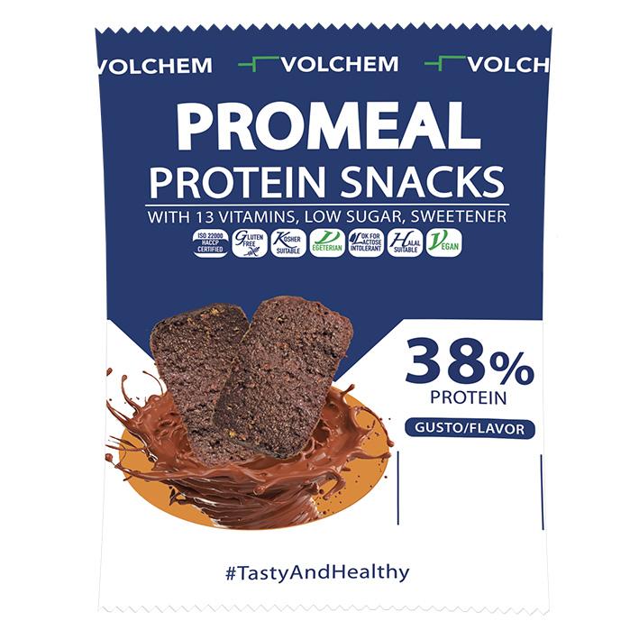 PROMEAL ® PROTEIN SNACKS 38%  ( snack proteico ) 37,5g