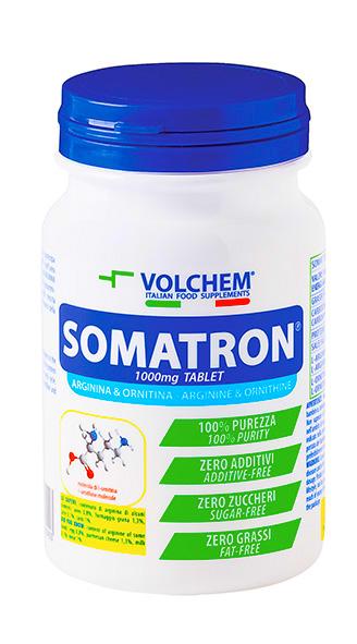 SOMATRON ® ( arginina e ornitina ) - compresse