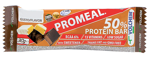 PROMEAL ®  PROTEIN 50%  ( barretta proteica ) 30g