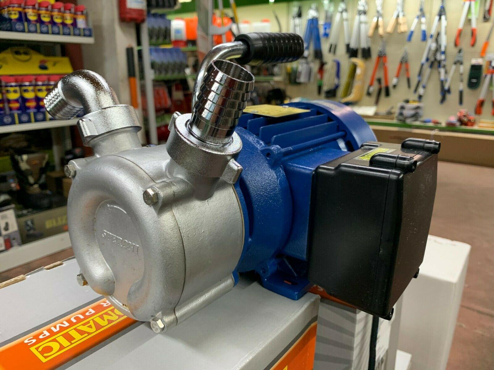 ELETTROPOMPA per Travaso Speroni Euromatic TB25 in acciaio 1100 watt