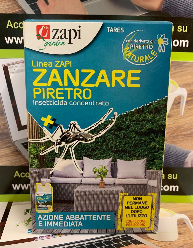 TARES ZANZARE PIRETRO con derivato di Piretro 250ml