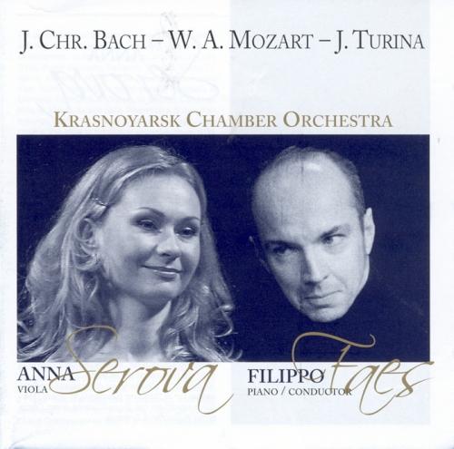 SEROVA - FAES -  KRASNOYARSK CHAMBER ORCHESTRA J. CHR. BACH  W.A. MOZART  J. TURINA