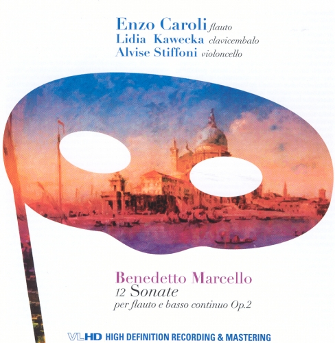 BENEDETTO MARCELLO 12 SONATE- VLHD HIGH QUALITY