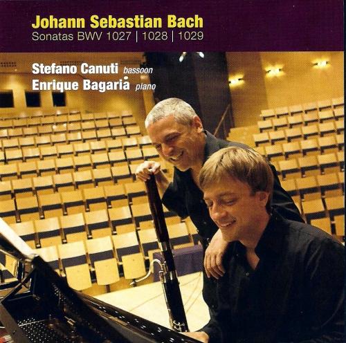 J. S. BACH SONATAS BWV 1027-1028-1029