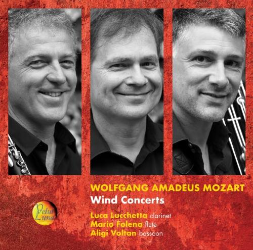 W.A.  MOZART - WIND CONCERTS