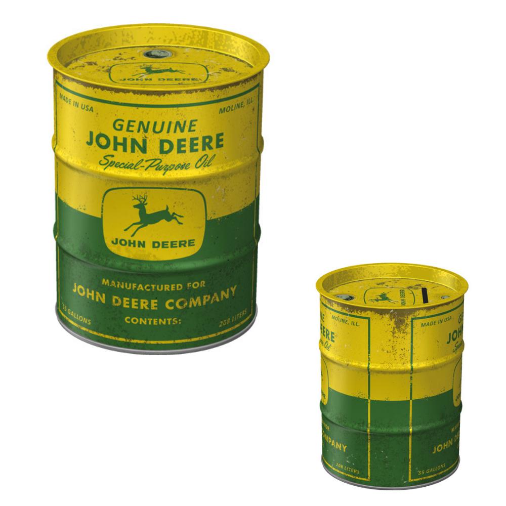 Salvadanaio in metallo John Deere - Special Purpose Oil