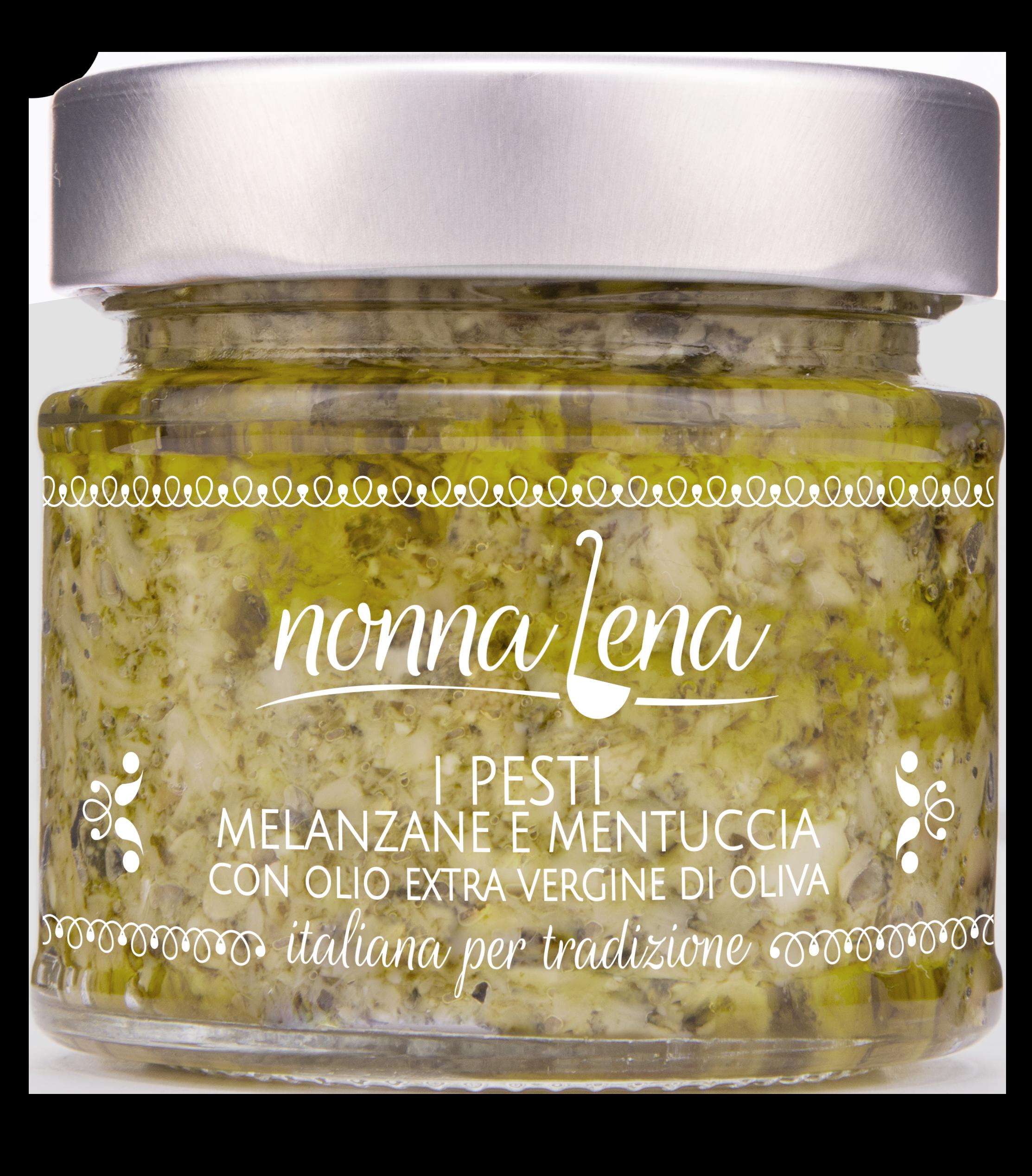 Pesto di Melanzane e mentuccia - Nonna Lena