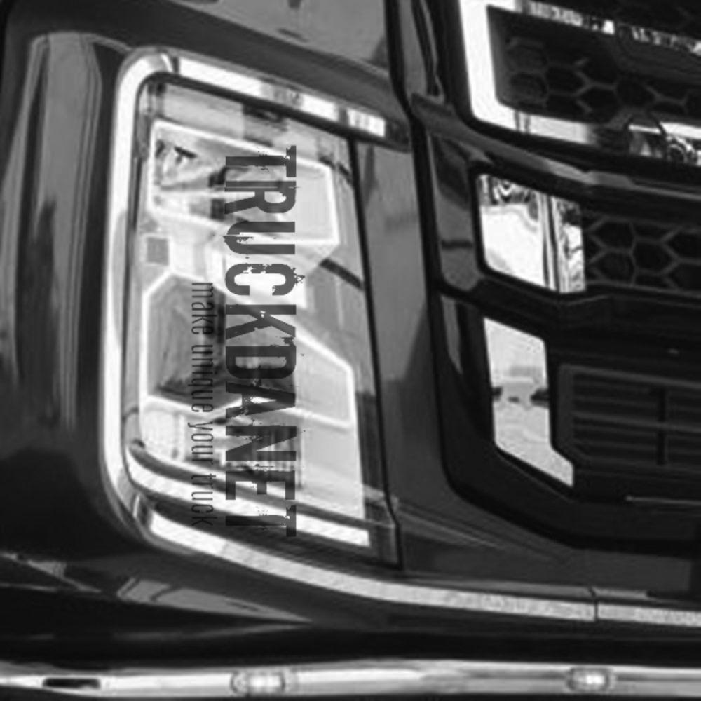 FORD F-MAX Profili fari anteriori  in acciaio inox lucido (aisi 304).