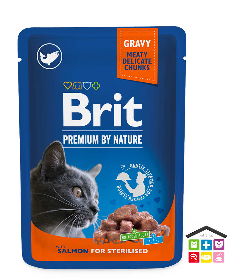 Chunks in Gravy con salmone  for Sterilised Cats 0,100g