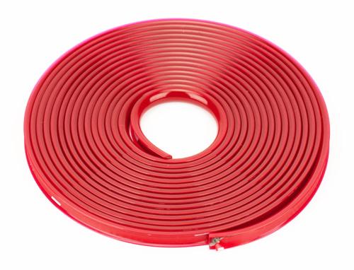 GARAGE - Bumper protettivo rosso metallizzato