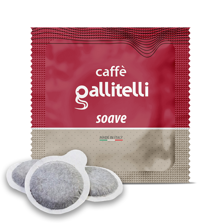Caffè Gallitelli 150 cialde compatibili 44mm miscela soave