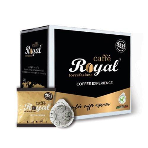 Royal Caffè 150 cialde compatibili 44mm miscela Crema da 8 grammi