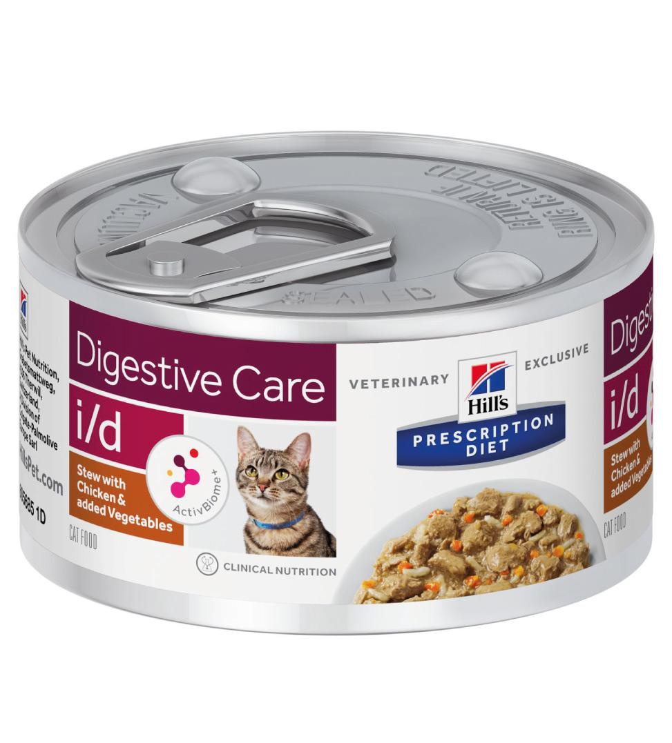 Hill's - Prescription Diet Feline - i/d  Stew - 82g x 6 lattine
