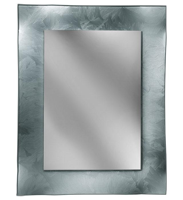 Spiegel mit Glasrahmen 'All glass'