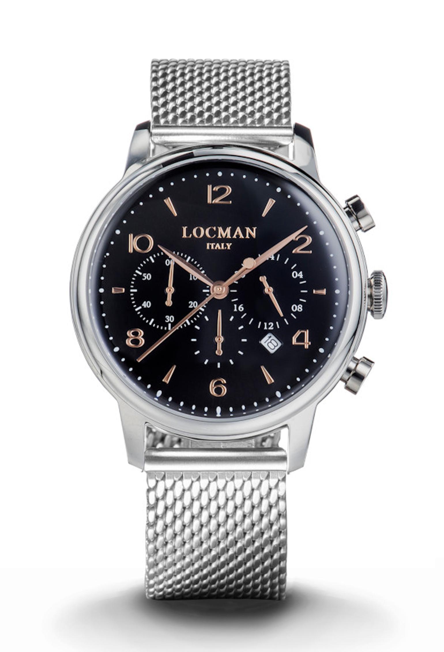 Locman 1960 Cronografo0254A01R-00BKRG2B0