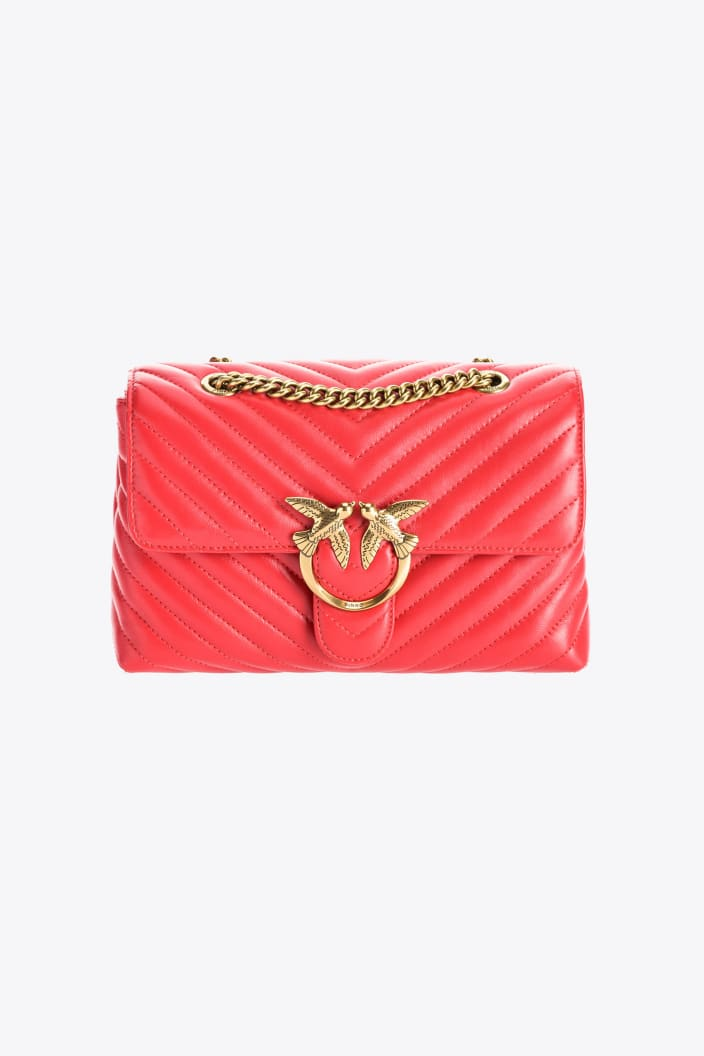 SHOPPING ON LINE PINKO LADY LOVE BAG PUFF V QUILT NEW COLLECTION WOMEN'S FALL/WINTER 2022