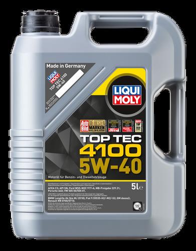 Liqui Moly Top Tec 4100 5W-40 Barattolo Lt. 5