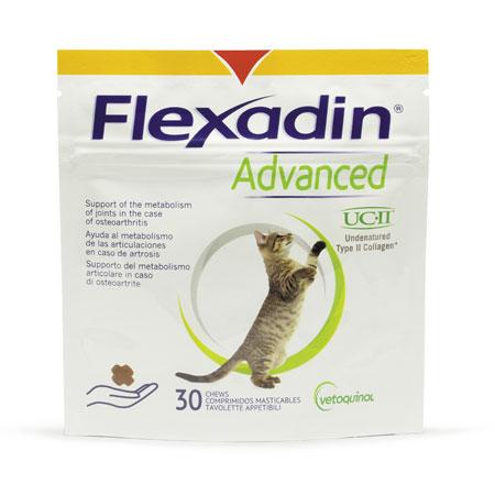 FLEXADIN ADVANCED (30 tavolette) – Favorisce il metabolismo articolare dei gatti