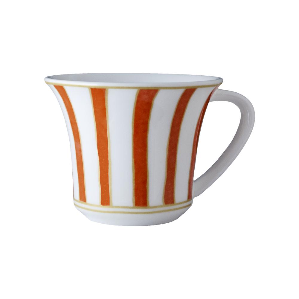 Tazza caffè cc 110 | Striche Arancio e Oro