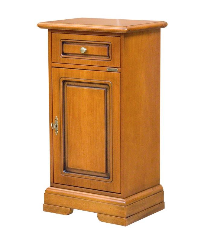 Table téléphone classique en bois