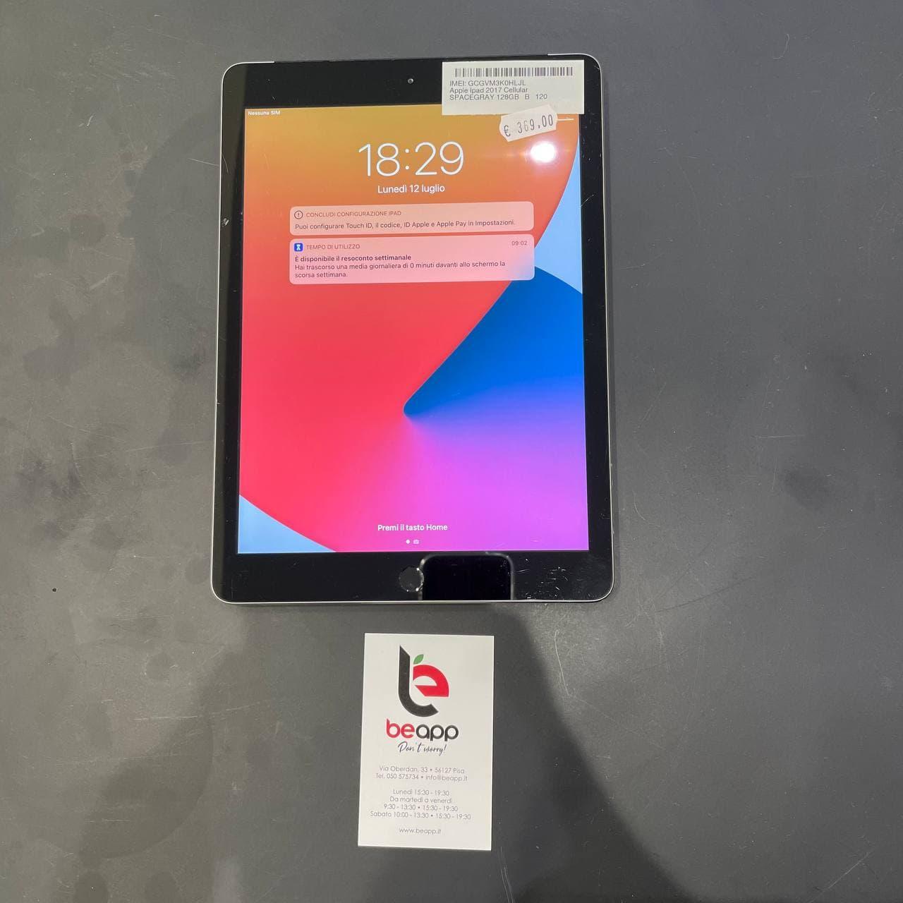 Apple iPad 2017 Cellular - (Ricondizionato)