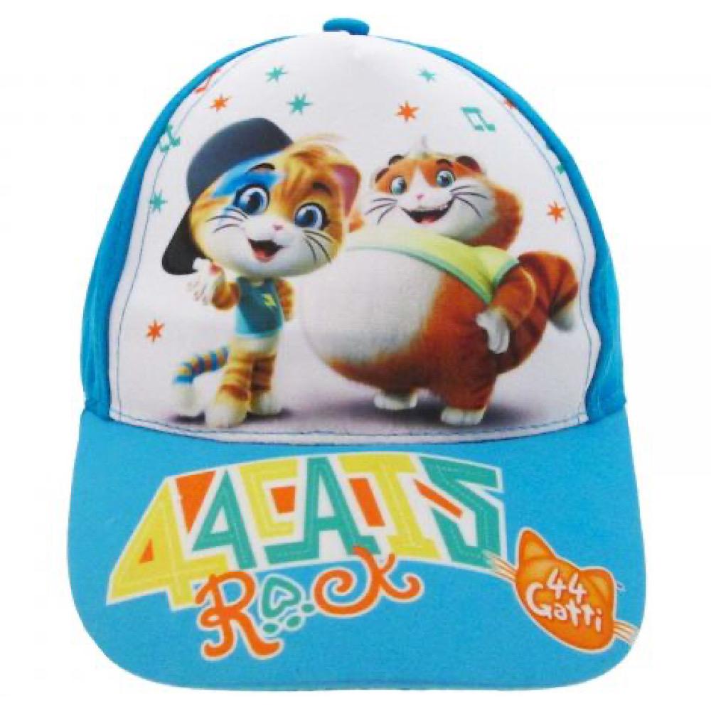 Cappello 44 gatti Rock