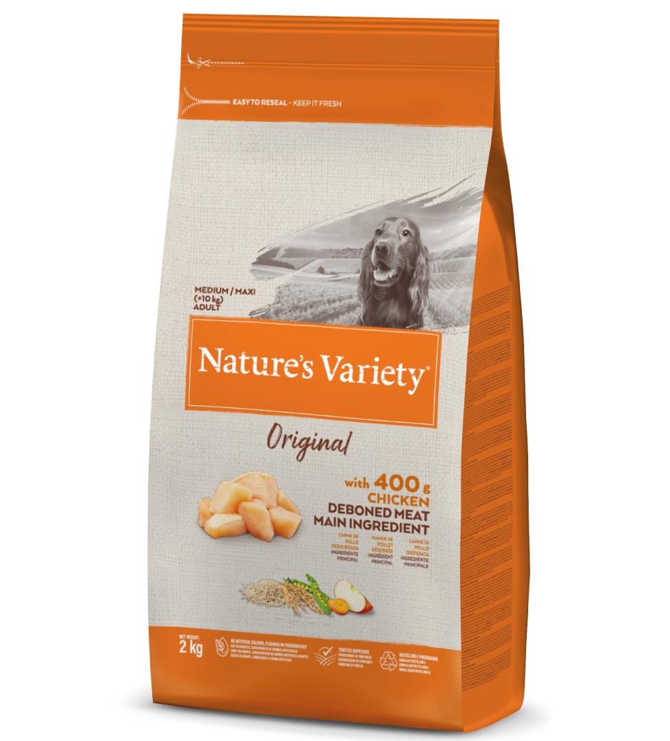 Nature's Variety - Original Dog - Medium/Maxi - Adult - Pollo - 2 kg