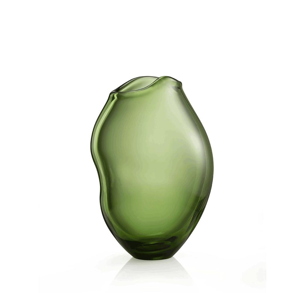 Vaso Medio Nuvole Verde Soraya