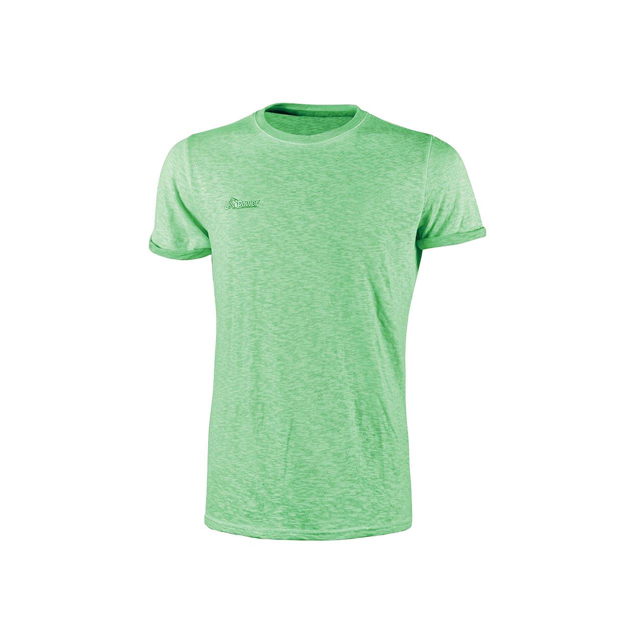 T-shirt da Lavoro UPower Modello Fluo 100% cotone
