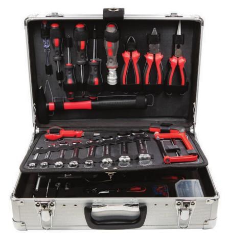 Set bussole e utensili manuali in valigetta 127 pz - Lti 64230299