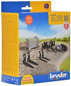 BRUDER - 02318 Set Caricamento Frontale
