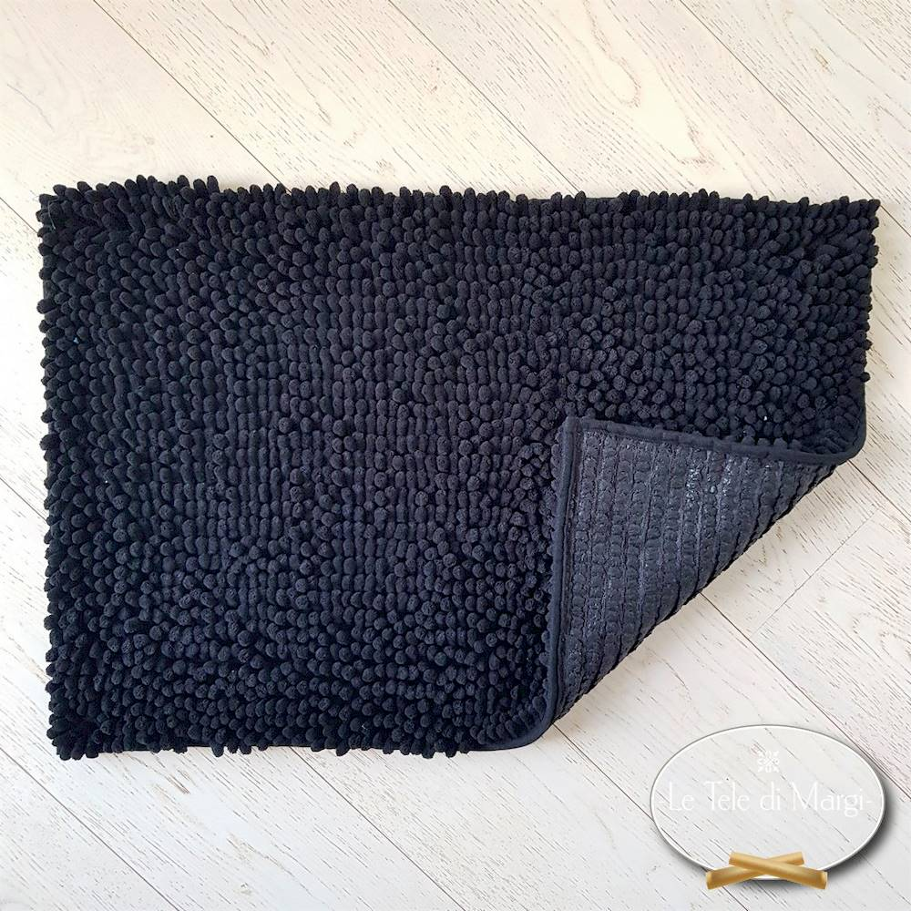 Tappeto antiscivolo passatello nero 60 x 120