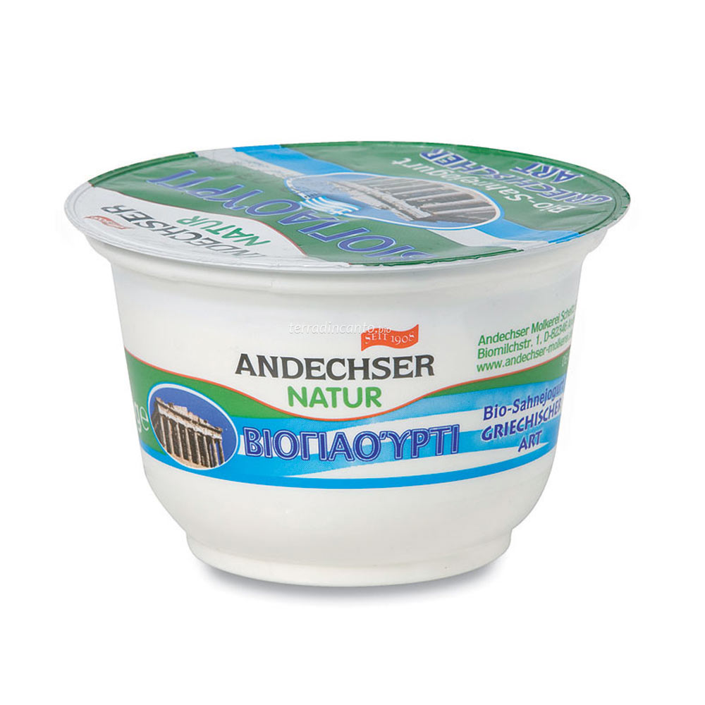 Jo tipo greco naturale Andechser