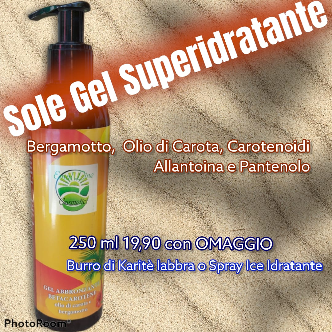 SoleGel gel superidratante superabbronzante 250 ml