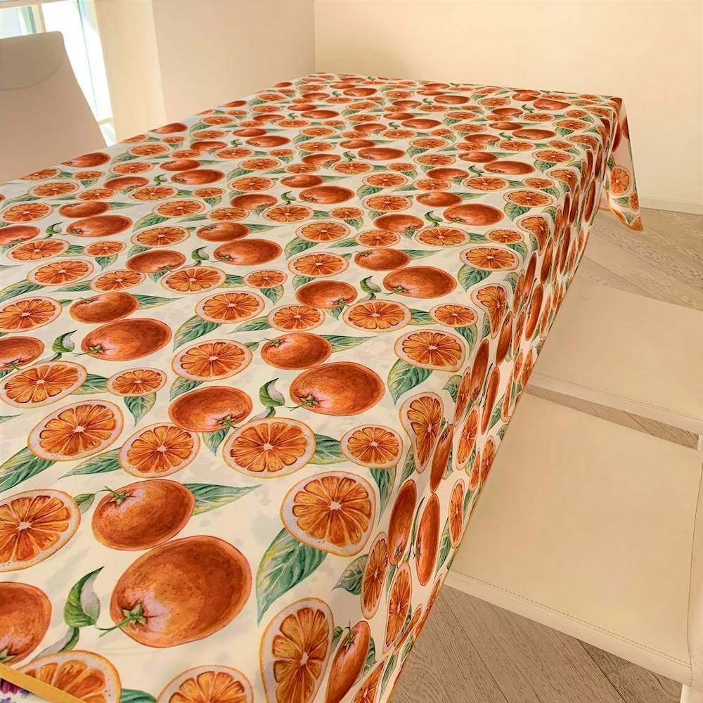 Tovaglia antimacchia Arancia 140 x 230