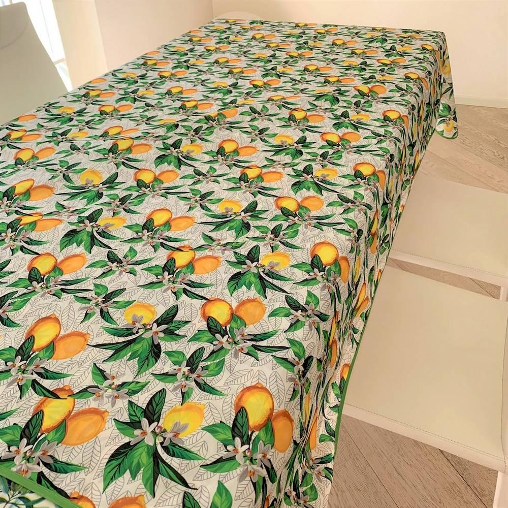 Tovaglia antimacchia Limoni 140 x 180