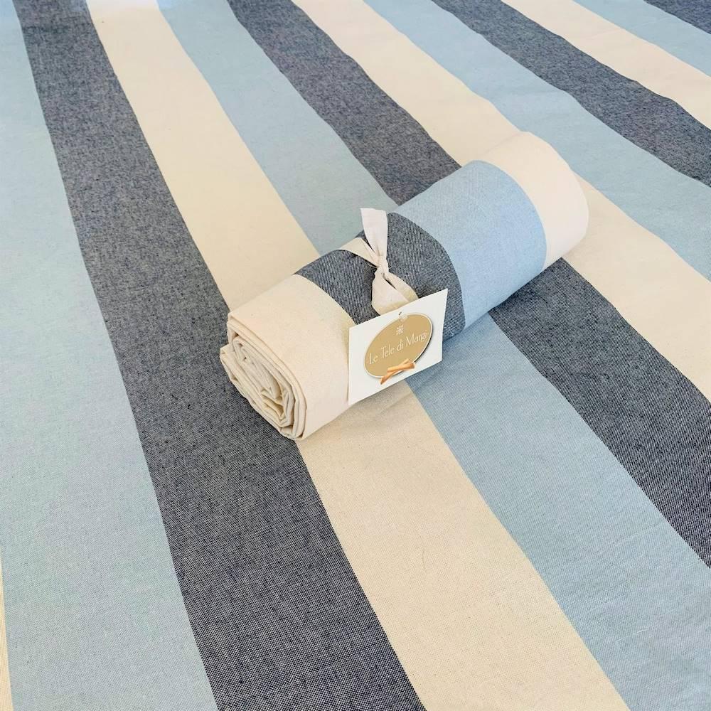 Telo Granfoulard copritutto Sfumato blu 280 x 360