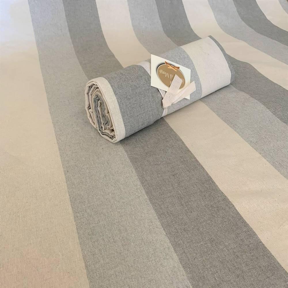 Telo Granfoulard copritutto Sfumato grigio 280 x 360