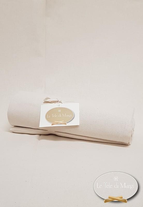 Telo Granfoulard copritutto Tinta unita Panna 260 x 280