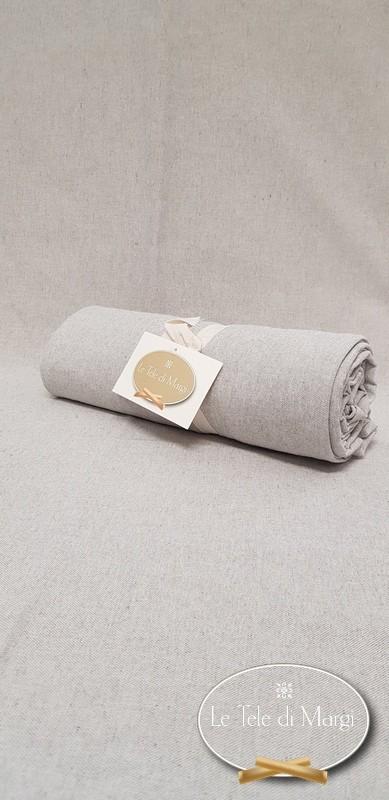 Telo Granfoulard copritutto Tinta unita grigio 260 x 280