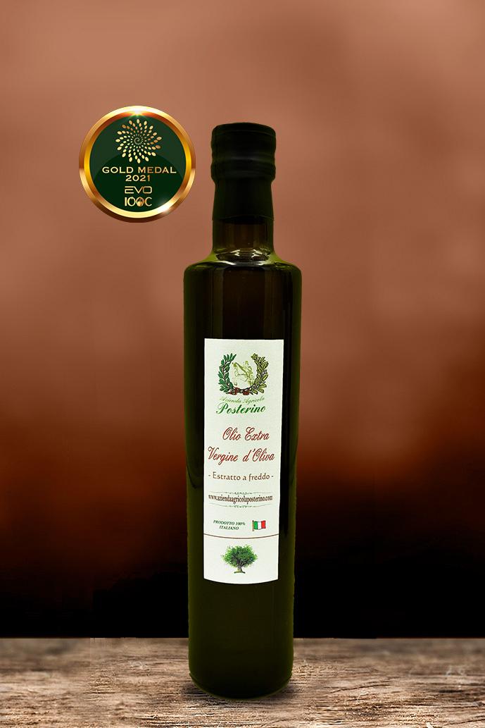 Olio Extravergine d'oliva estratto a freddo 100% Italiano ml 500
