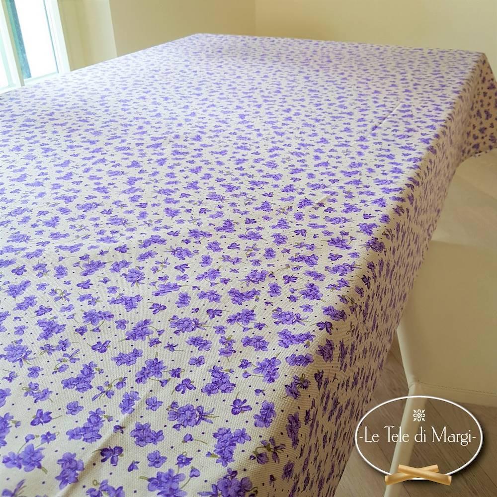 Tovaglia Violette lilla 140 x 300