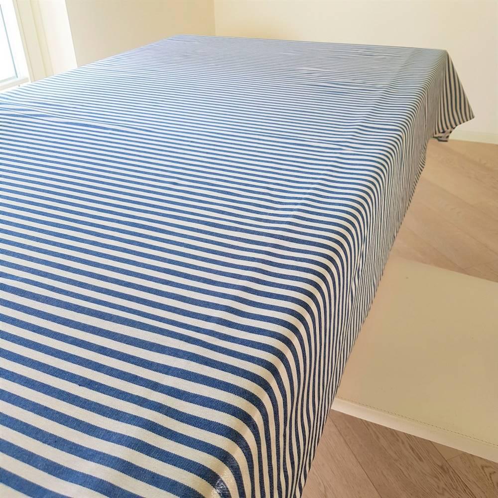 Tovaglia millerighe blu 140 x 240