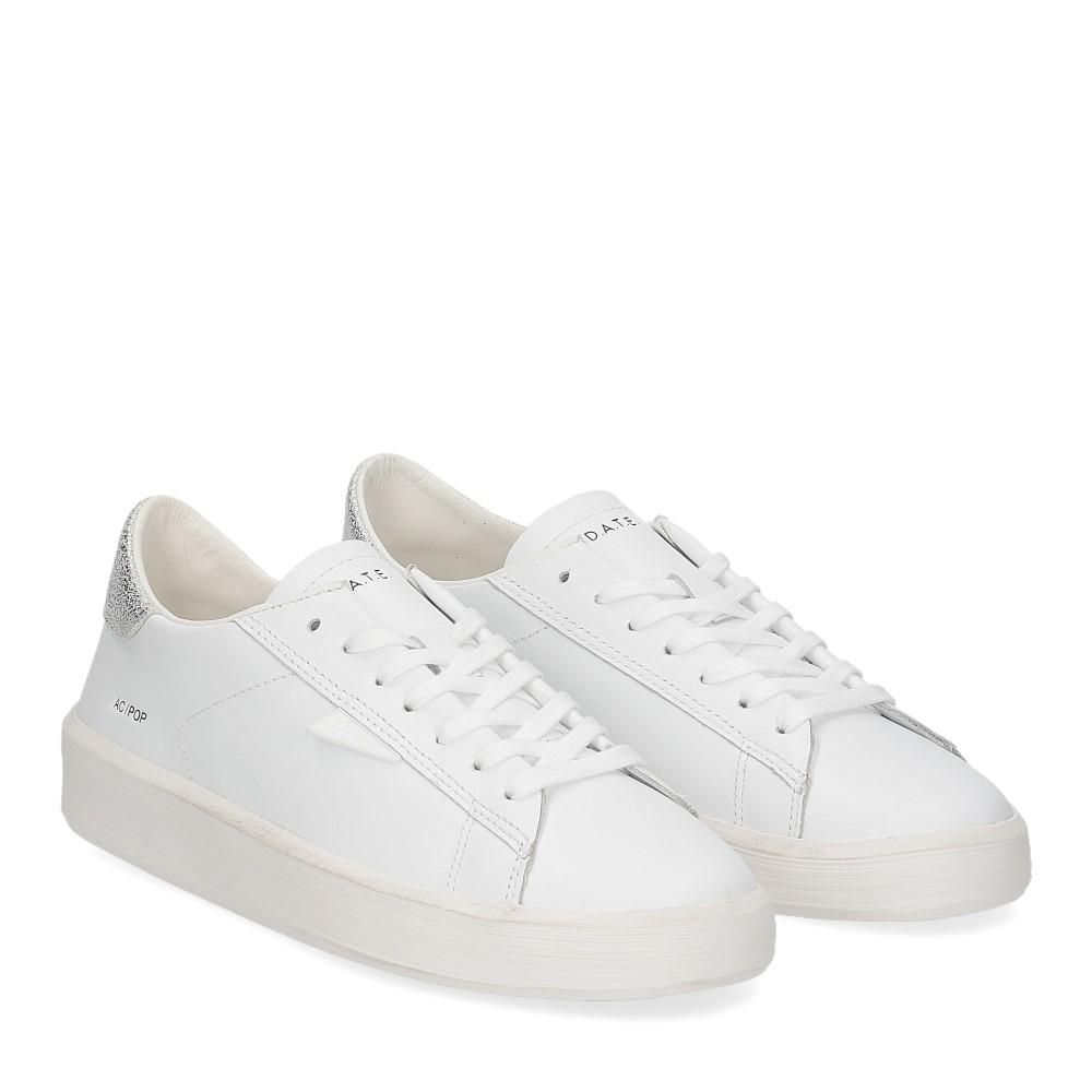 D.A.T.E. Ace Pop white silver