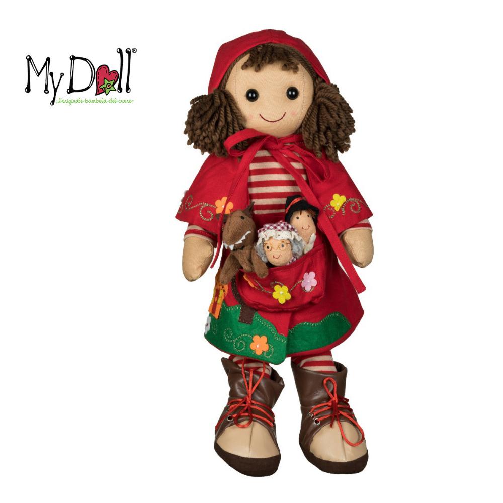 Bambola Cappuccetto Rosso My Doll 42 cm