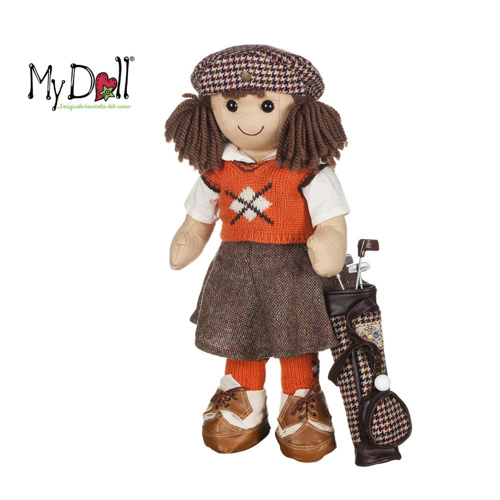 Bambola Greta Golfista My Doll 42 cm