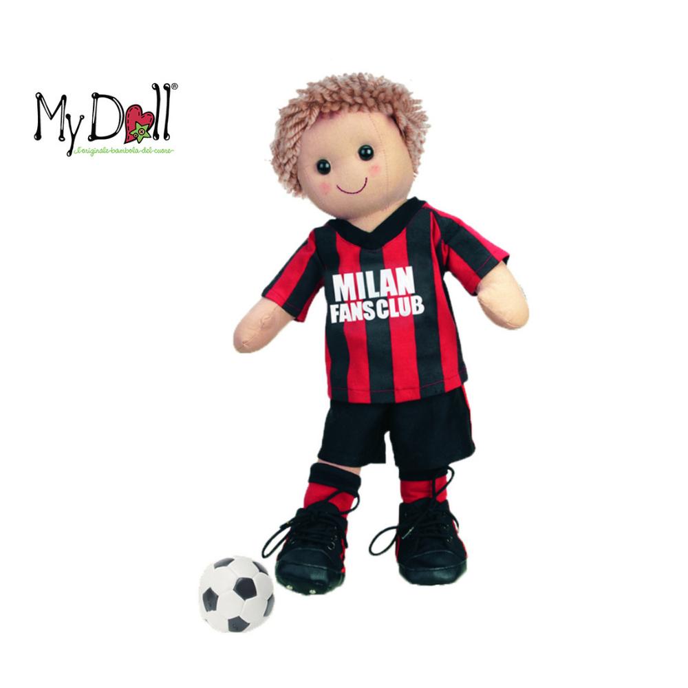 Bambolo Milan calciatore My Doll 42 cm