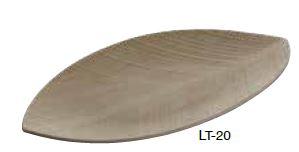 leaf vassoio acero piccolo